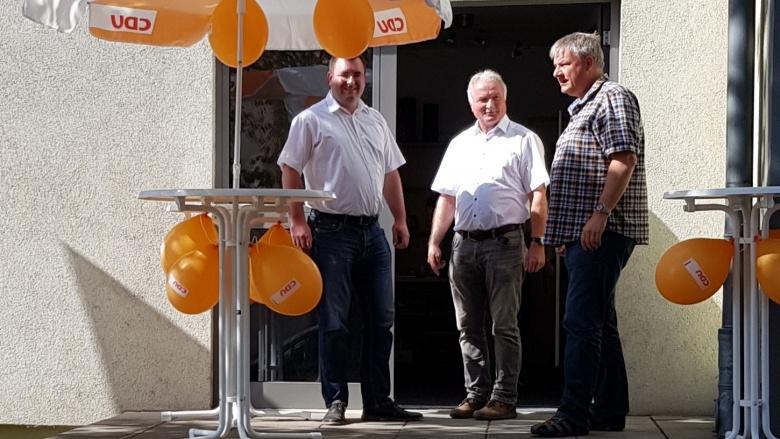 Büroeröffnung MdB Schweiger - Merseburg 11