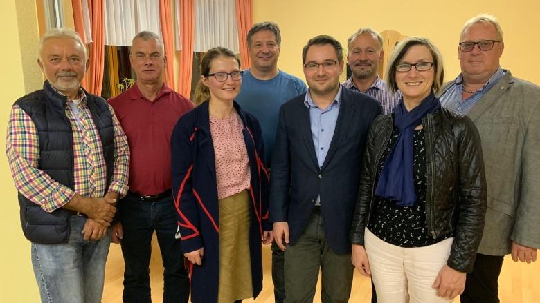Vorstand des OV Bad Dürrenberg - Aueland
