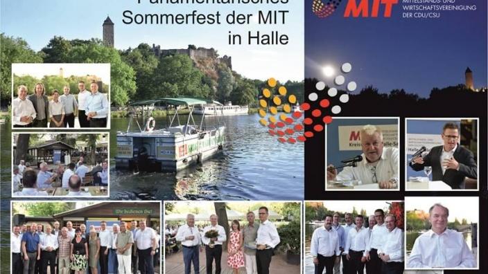 Impressionen des Sommerfests der MIT 2018