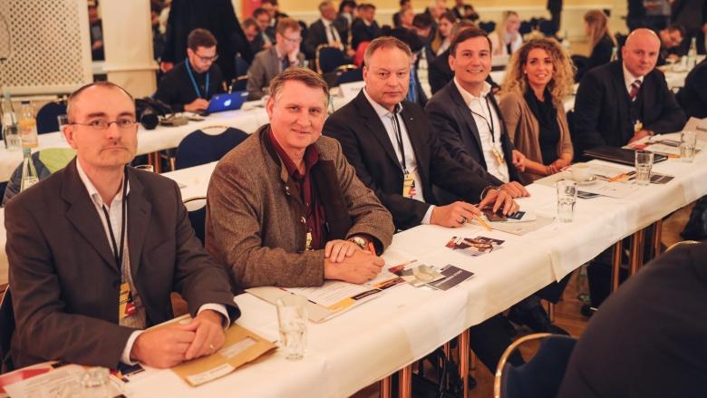 Die Delegierten des CDU-Kreisverbands Saalekreis