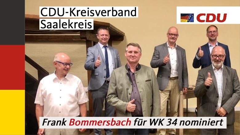 Frank Bommersbach nominiert