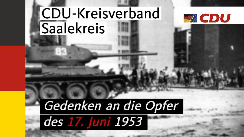 Gedenken 17. Juni 1953