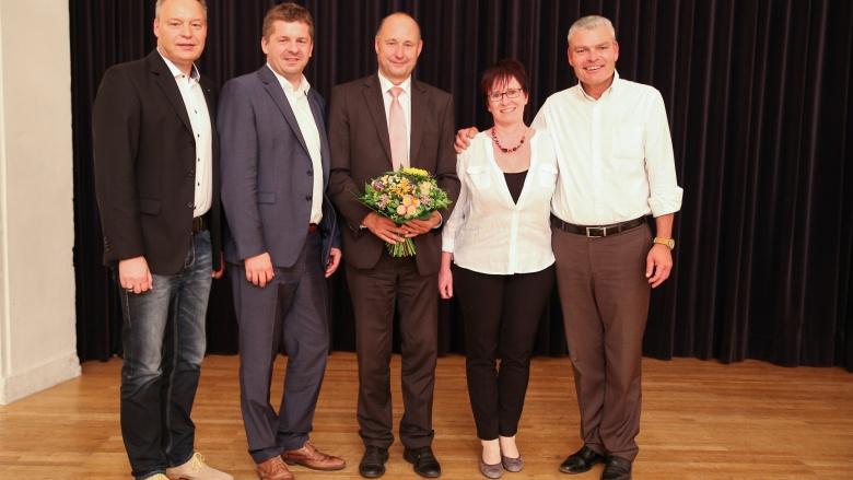 Hartmut Handschak erhält die Unterstützung der CDU Saalekreis