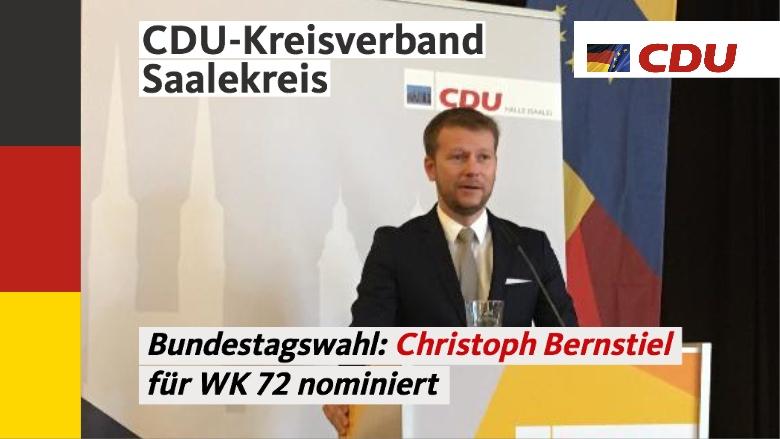 Nominierung Christoph Bernstiel