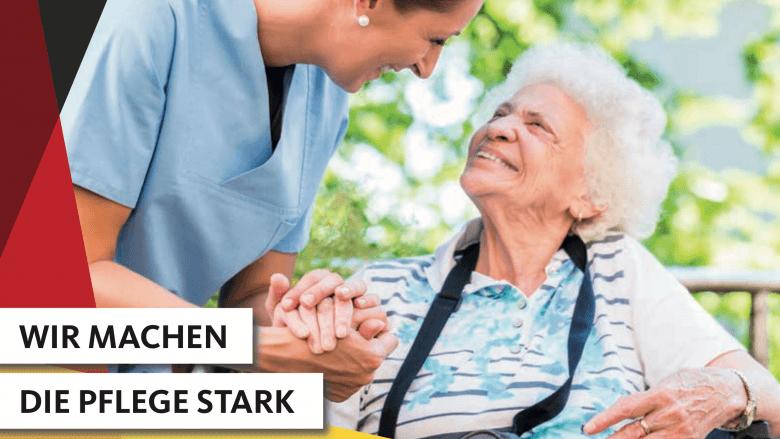 Wir machen die Pflege stark