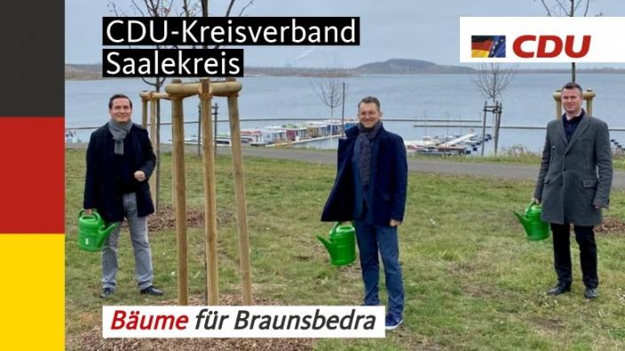 Baumpflanzaktion in Braunsbedra