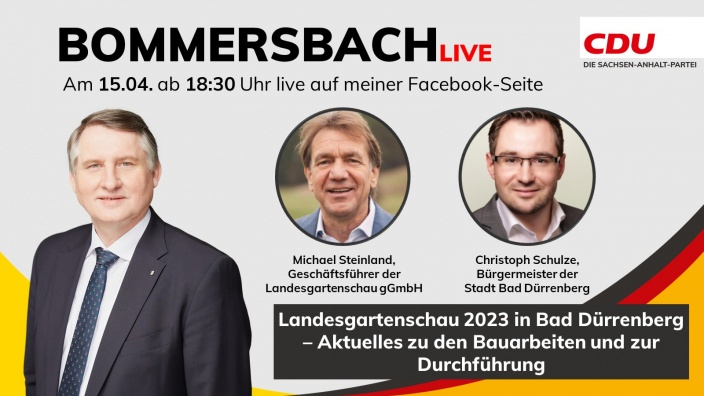 Bommersbach-Live (15.04.2021)