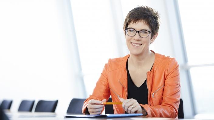 Neue CDU Vorsitzende: Annegret Kramp-Karrenbauer