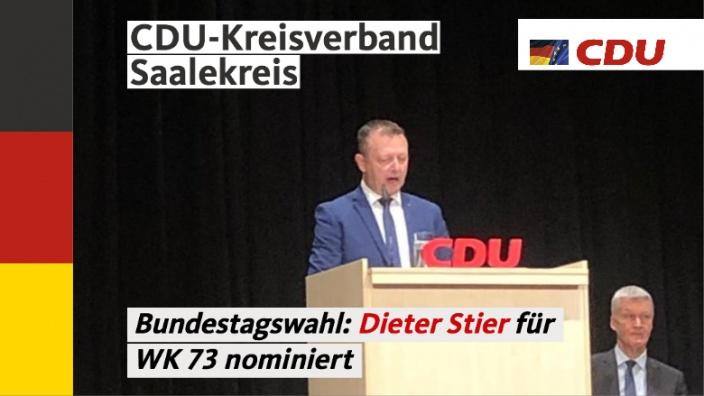 Nominierung Dieter Stier