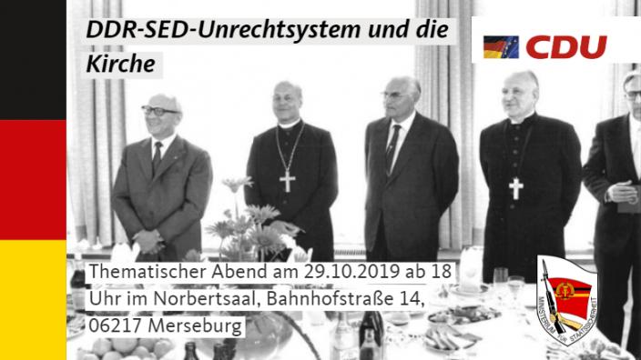 Veranstaltung DDR und Kirche
